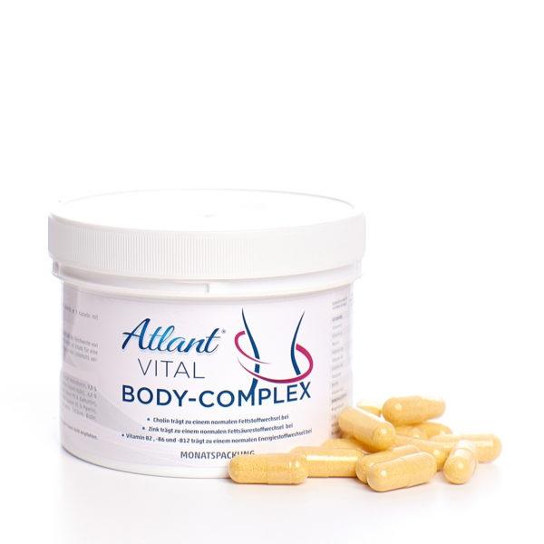 Atlant Vital Body Complex - Abnehmen mit Guarana Extrakt, L- Carnitin