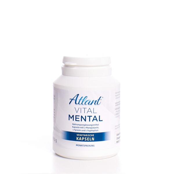 Atlant Vital Mental- L-Phenylalanin, L-Tyrosin, L-Tryptophan